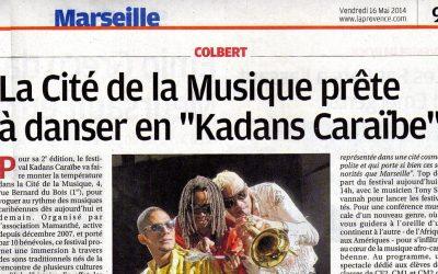 La Provence – 16 mai 2014