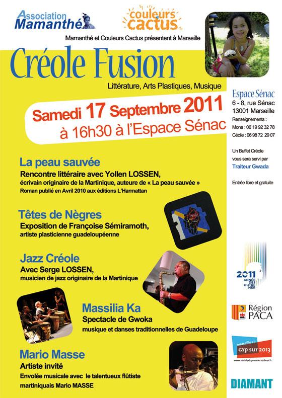 Septembre 2011 – Créole Fusion