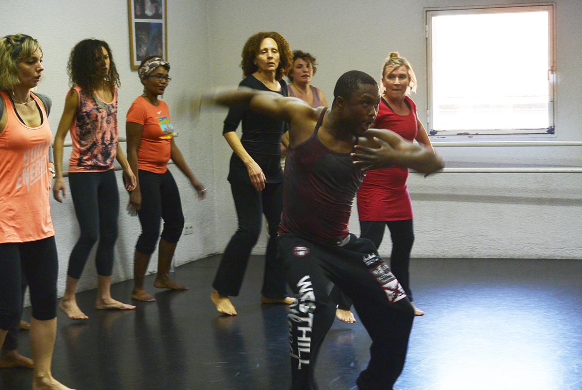Samedi 9 juillet 2016 – Stage de danse africaine avec Amédé Nwatchok