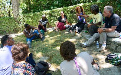 Voyage Avignon OFF et rencontre avec la Cie Boukousou – Ateliers Solidaires juillet 2016