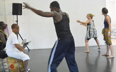 3 et 4 janvier 2015 – Stage de danse avec Amédé Nwatchok