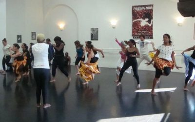 14 et 15 avril 2012 – Stage de danse gwoka avec Raymonde Torin