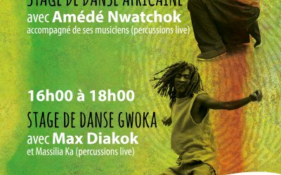 Dimanche 19 novembre 2017 – Stages de danse africaine et gwoka – Marseille