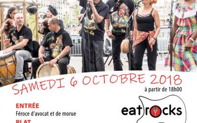 Samedi 6 octobre 2018 – Instants Créoles au Eat Rocks