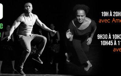 Cours de danse en ligne avec Amédé Nwatchock et Beth Rigaud